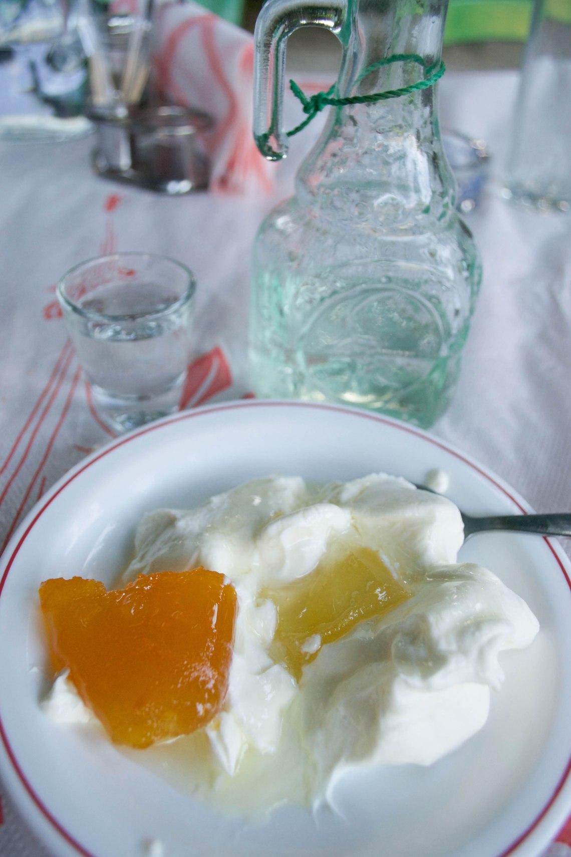 Yogurt - Crete, Greece