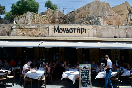 Monastiri was an excellent restaurant. Right on the water, decent prices and great food!
