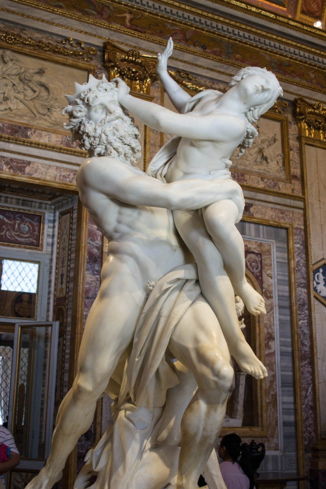 The Rape of Proserpina - Borghese Museum, Rome, Italy