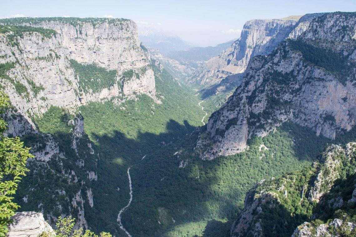 Vykos Gorge, Zagori, Greece - Baloi Lookout