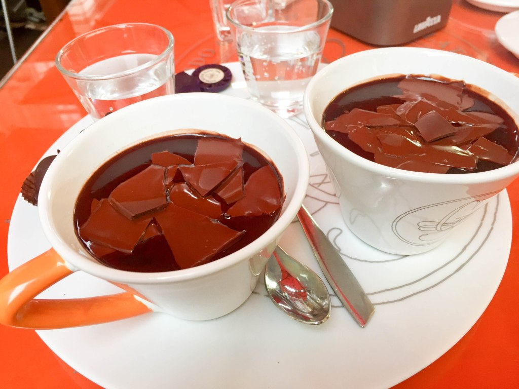 Guido Gobino Drinking Chocolate, Turin, Italy