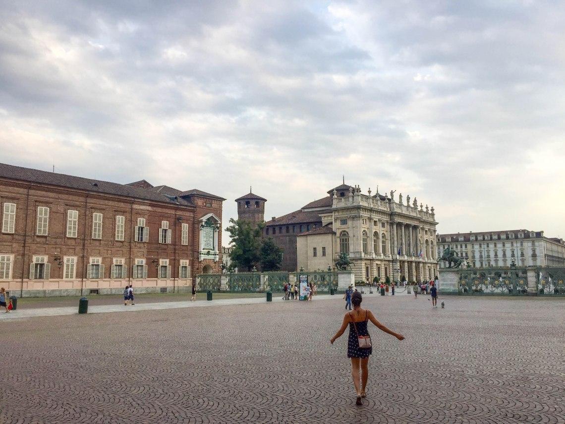 Central Plaza, Turin, Italy