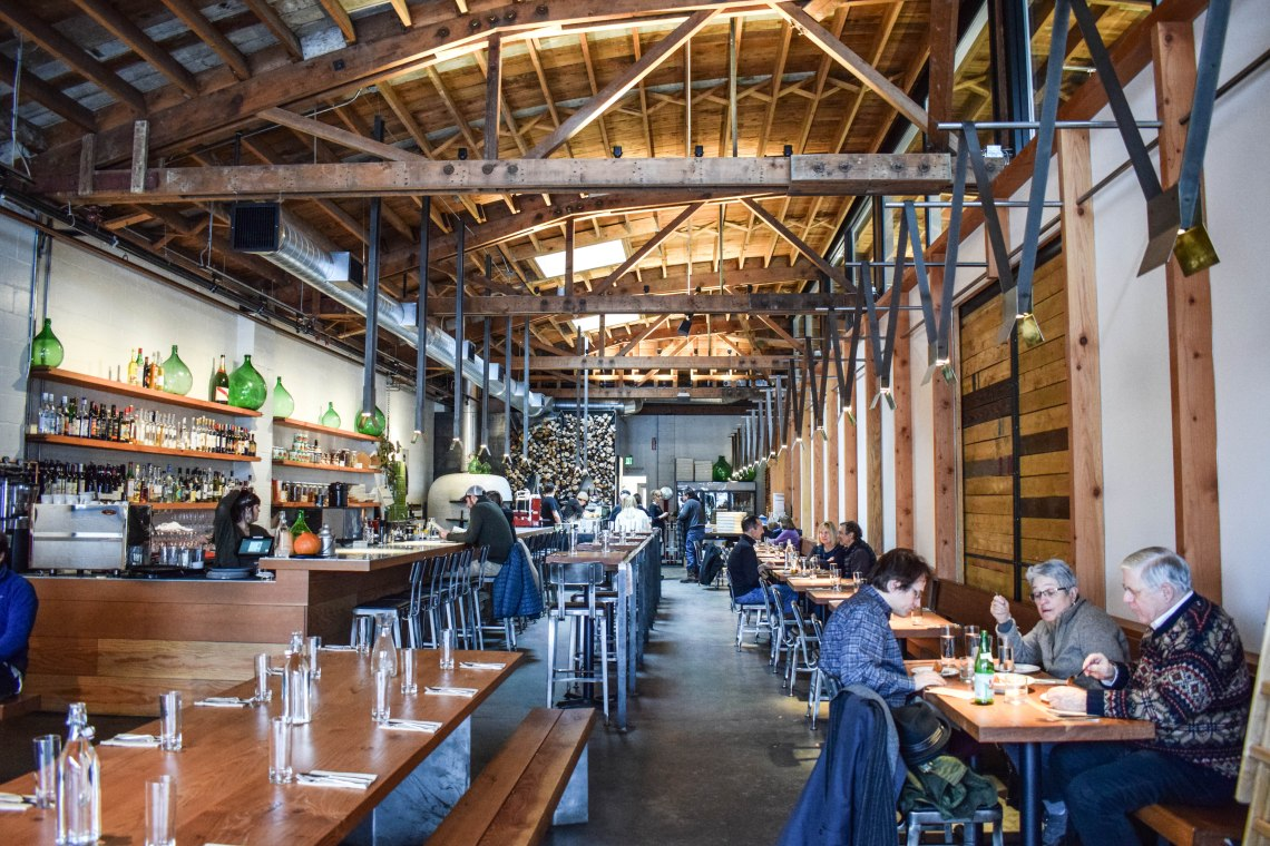 Bainbridge Island, Seattle, Washington - Bruciato Restaurant