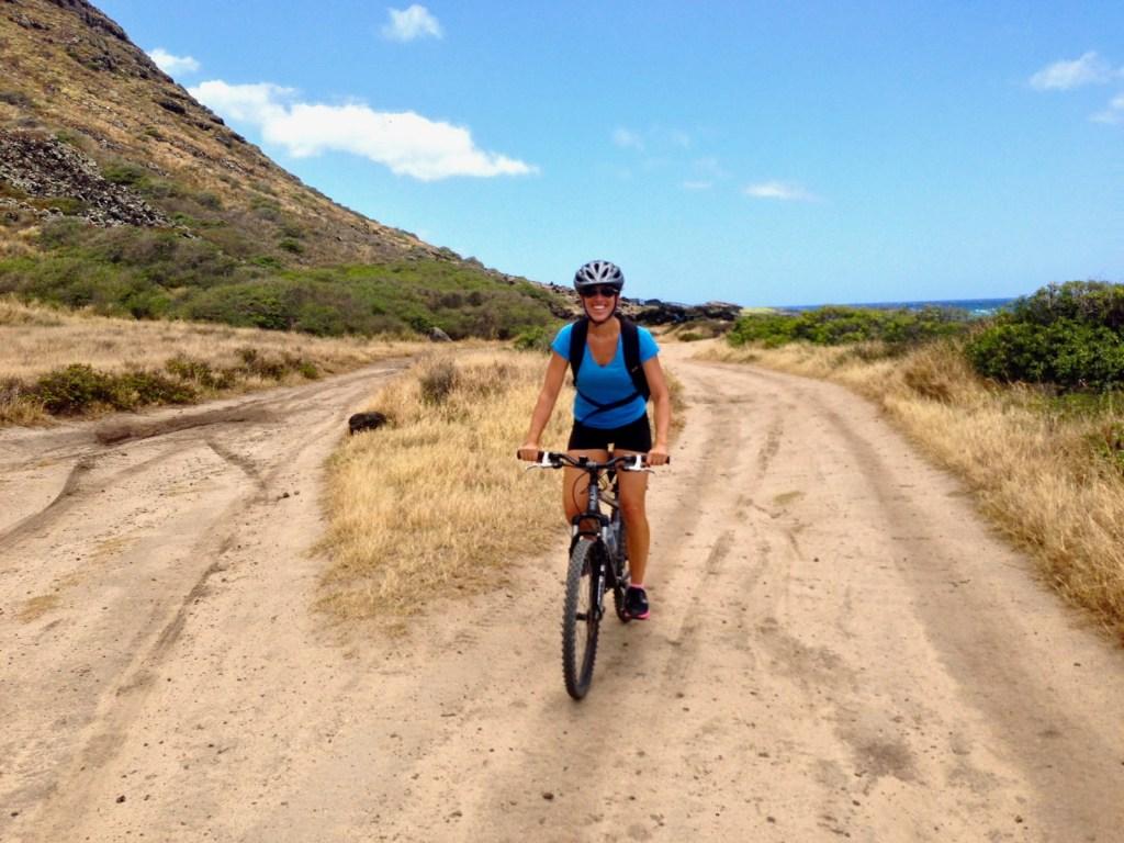 Mountain Biking Kaena Point Oahu Hawaii