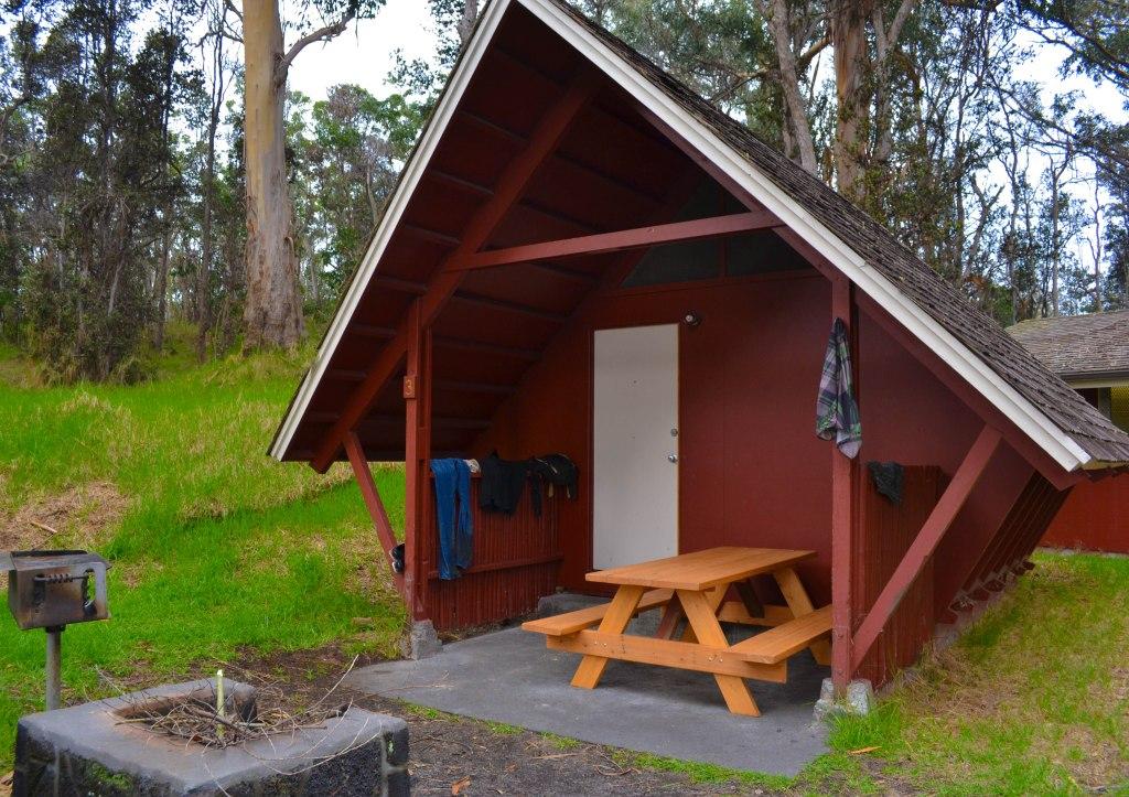 Namakanipaio Camper Cabins - Hilo, Hawaii
