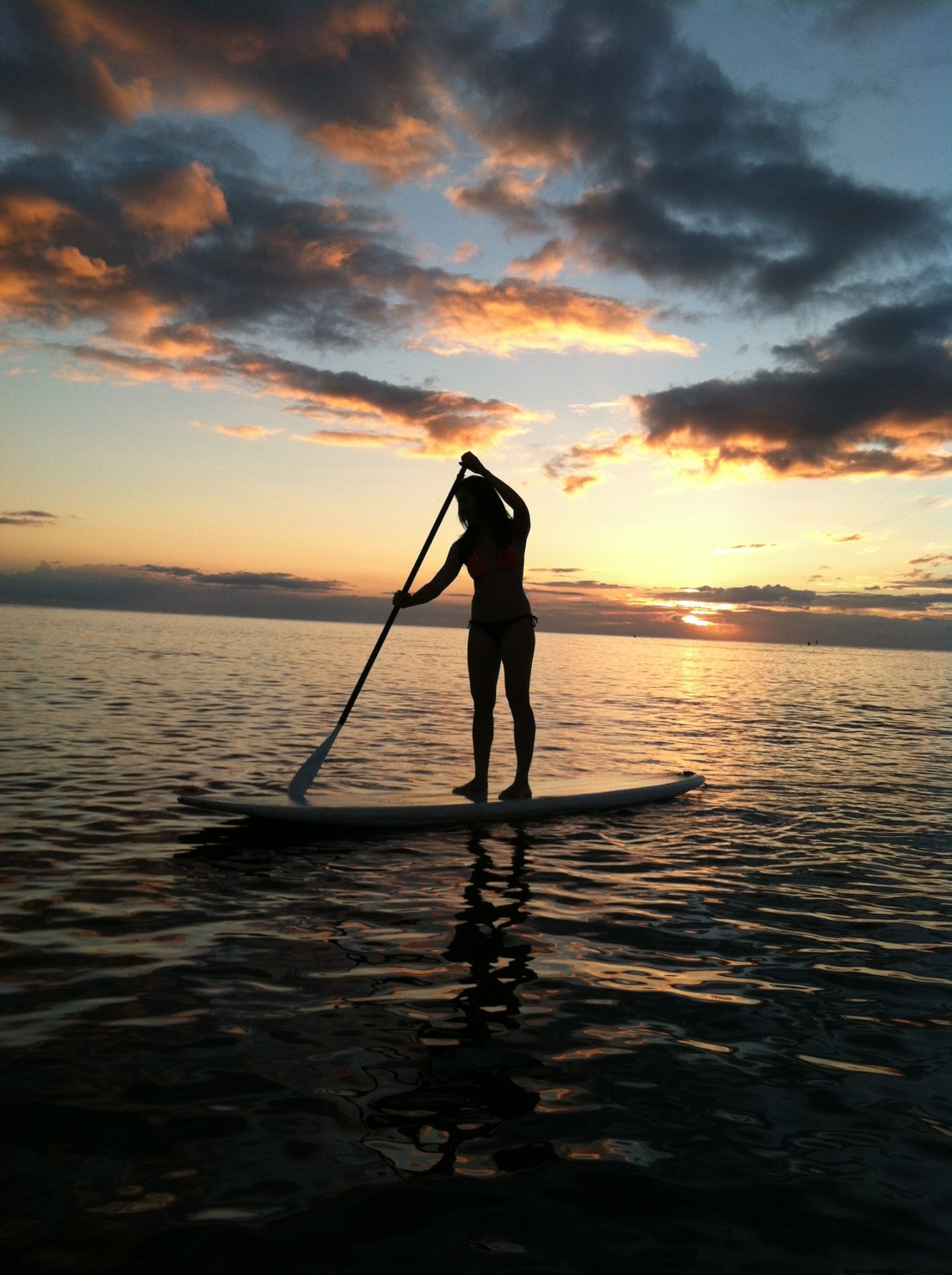 Stand up paddle board, Oahu Hawaii North Shore