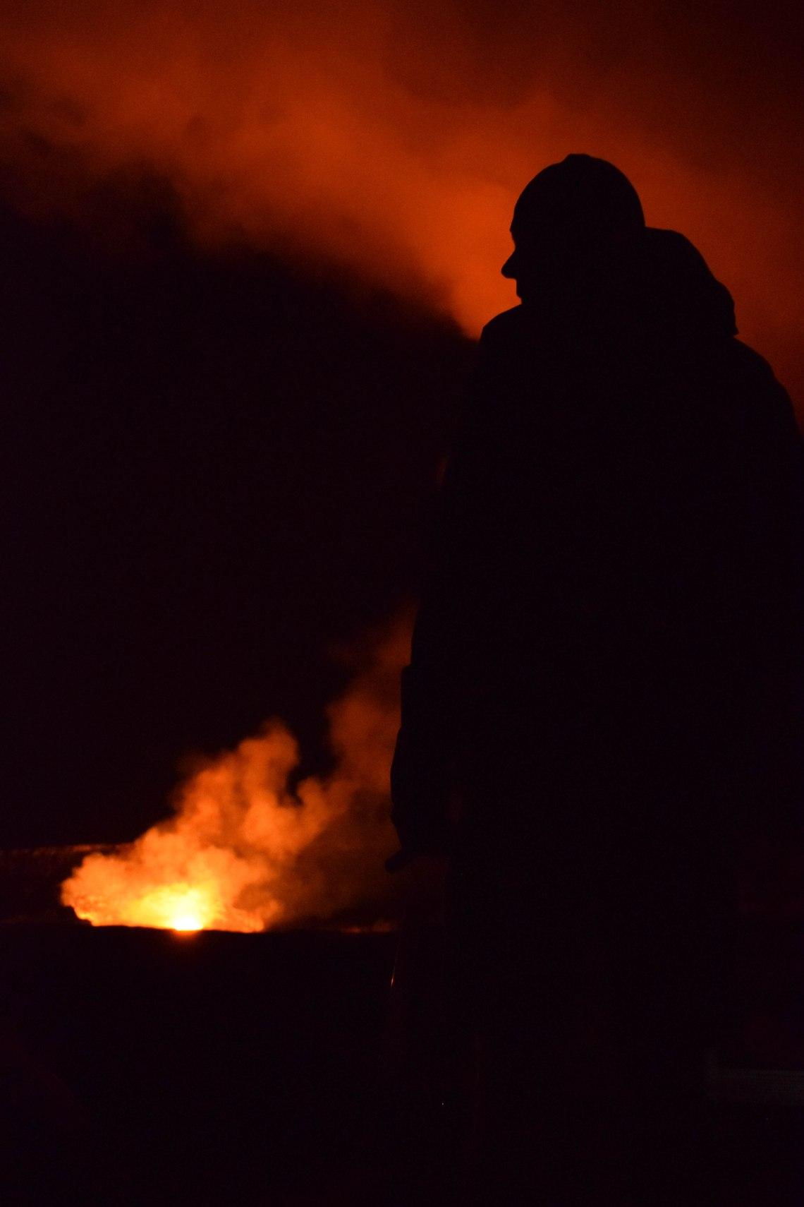 Big Island Volcano - Volcanoes National Park