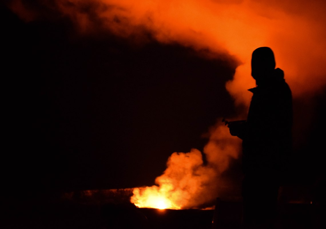 Big Island Volcano Lava - Volcanoes National Park