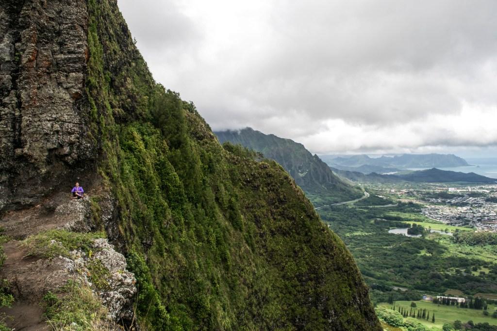 Pali Puka, Oahu, Hawaii