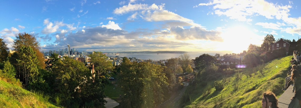 Kerry Park, Queen Anne, Seattle, Washington