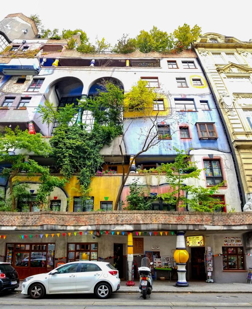 Hundertwasserhaus - Vienna, Austria