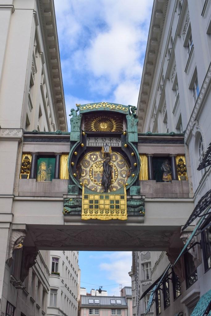 Anker Clock Tower - Vienna, Austria