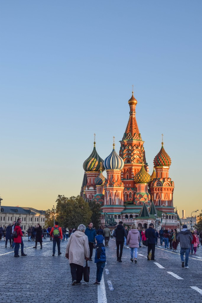 Saint Basil's Cathedral - Moscow, Russia, Red Square