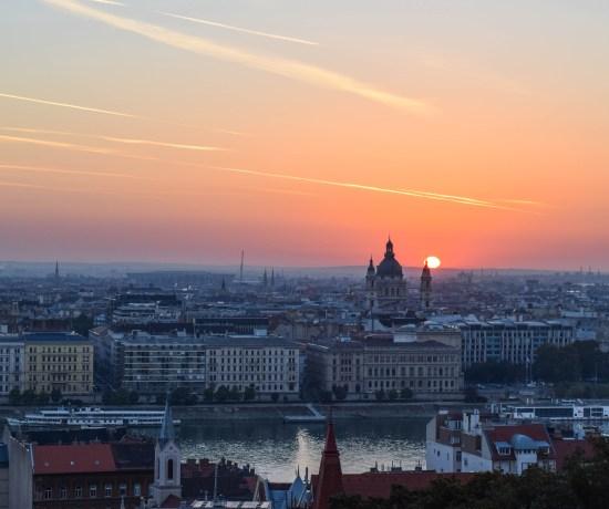 Sunrise at Fisherman's Bastion, Budapest, Hungary