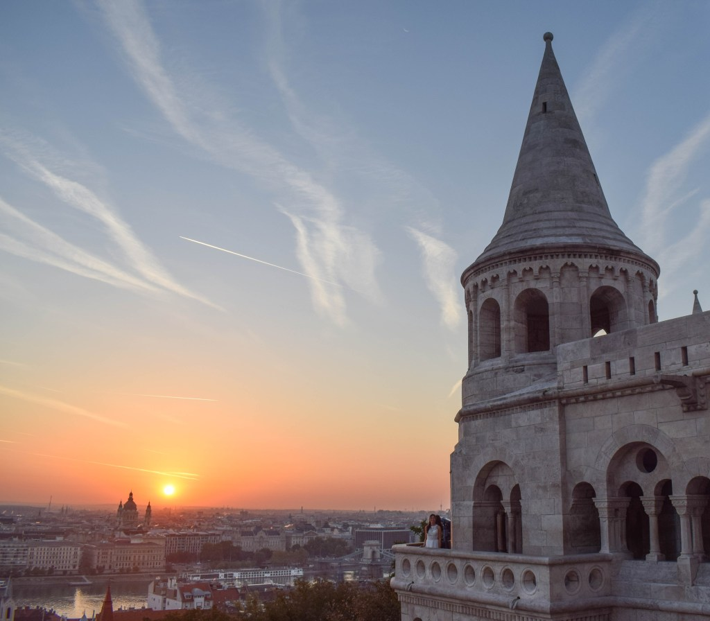 Sunrise at Fisherman's Bastion - Budapest, Hungary