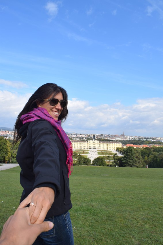 Schonbrunn Palace Gardens - Vienna, Austria: October 2018