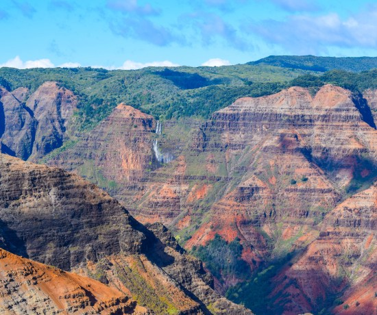 Waimea Canyon Waterfall, Kauai