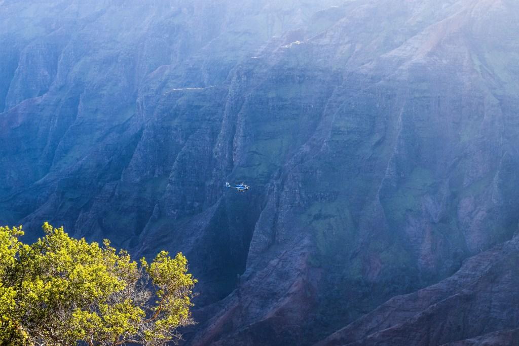 Blue Hawaiian Helicopters - Waimea Canyon, Kauai