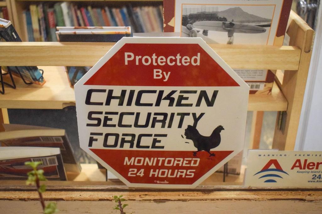 Rooster Security, Kauai