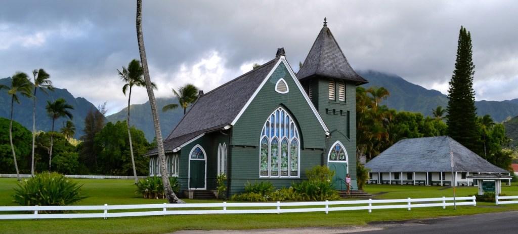 Wai'oli Huiia Church - Hanalei, Kauai