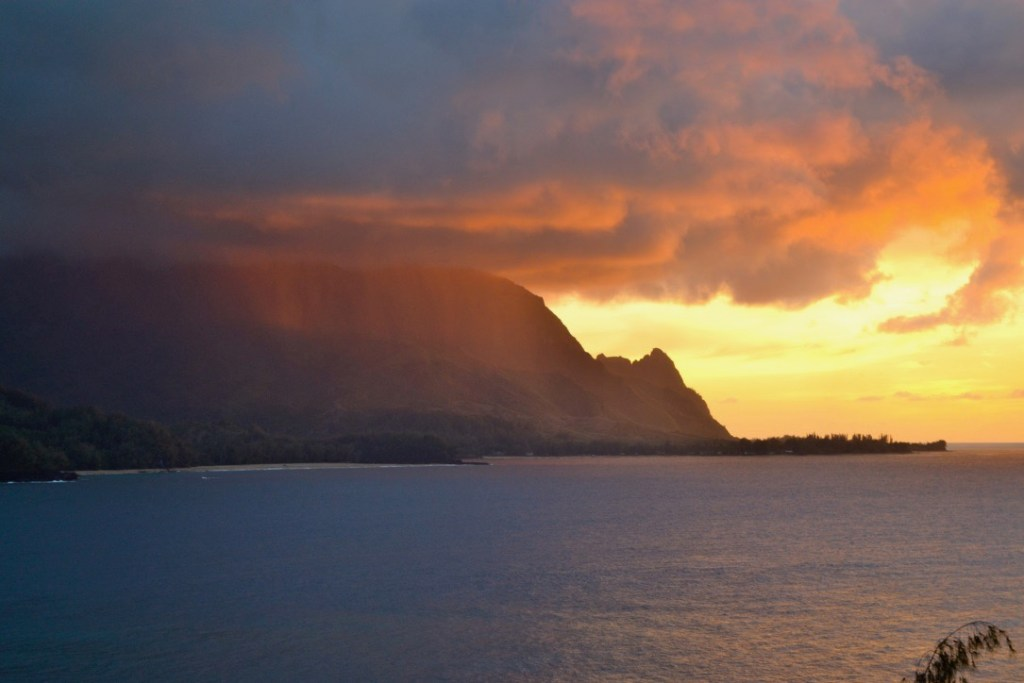Sunset - Hanalei, Kauai