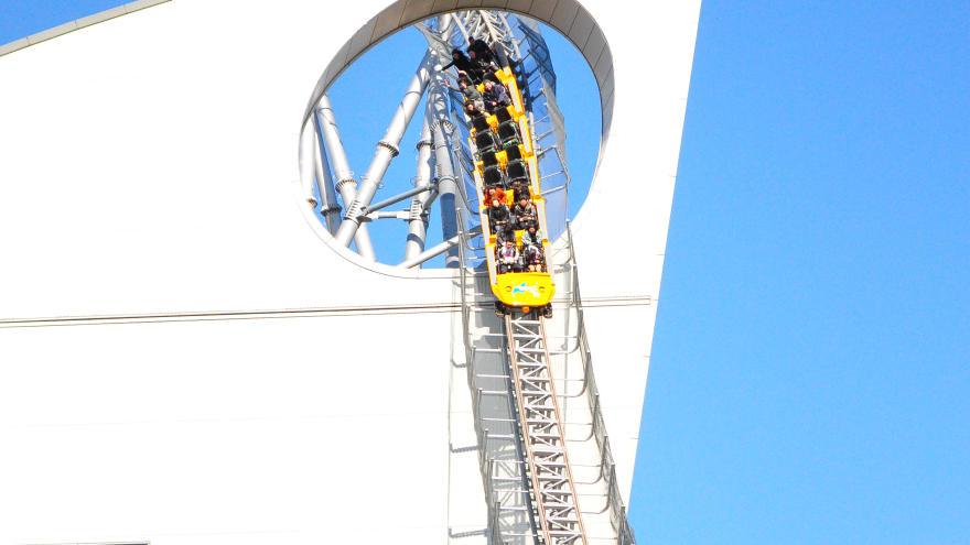 Thunder Dolphin Roller Coaster, Tokyo