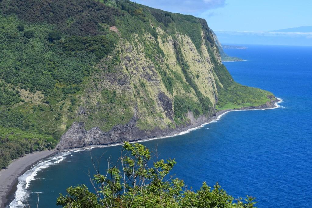 Waipio Valley Lookout; Big Island, Hawaii