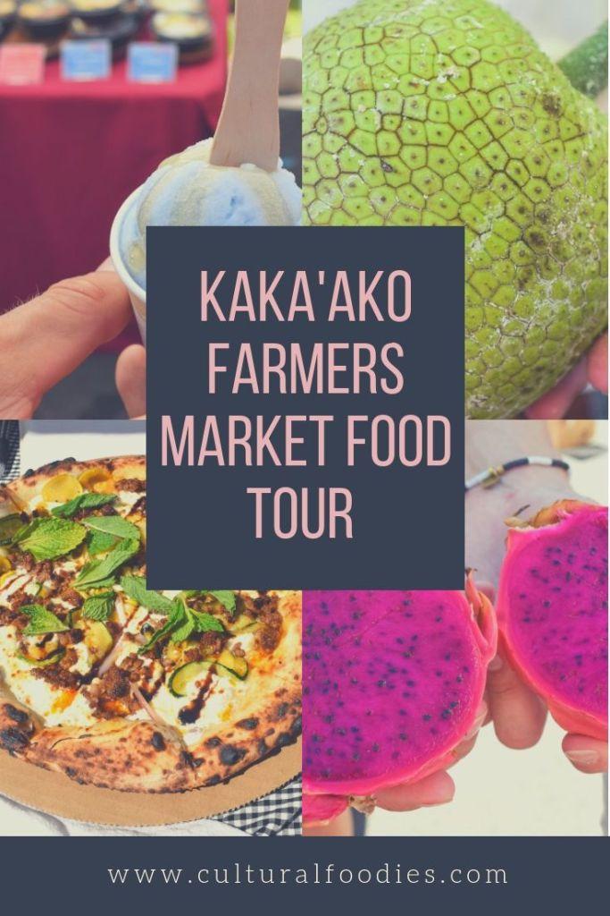 Kaka'ako Farmers Market Food Tour