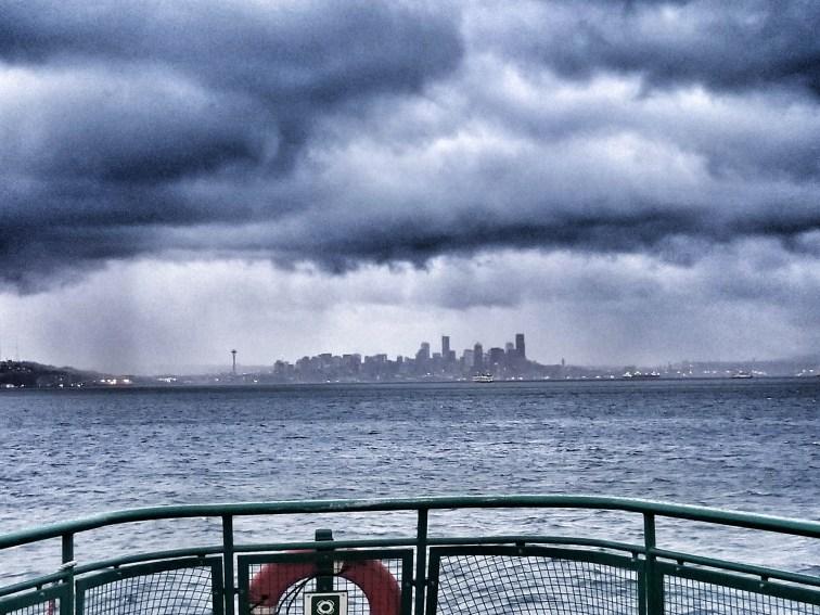 Seattle in Rain