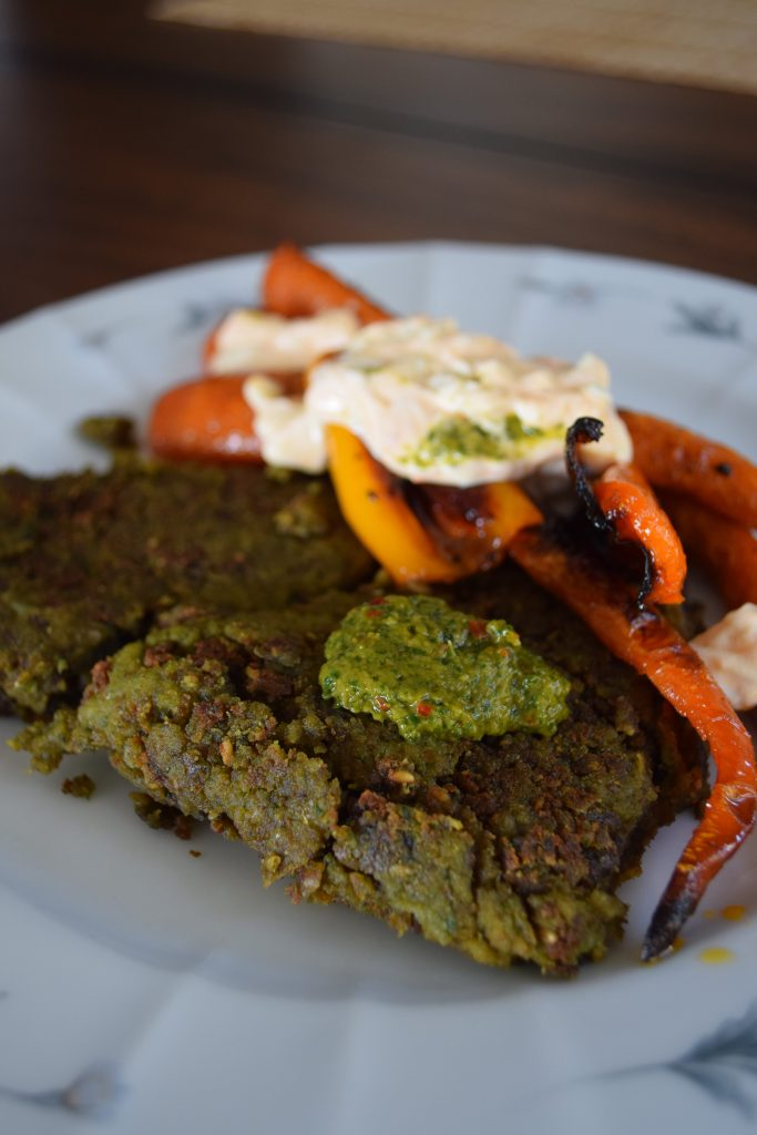 Falafel with Roasted Vegetables
