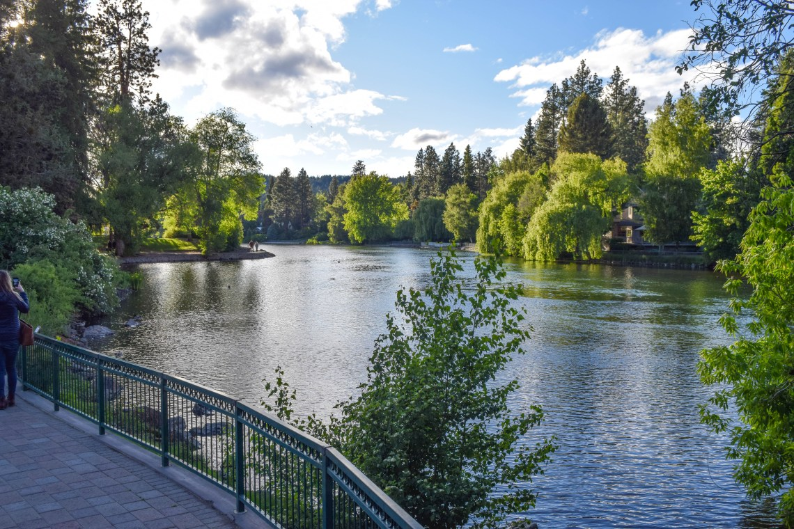 Drake Park & Mirror Pond, Bend, Oregon