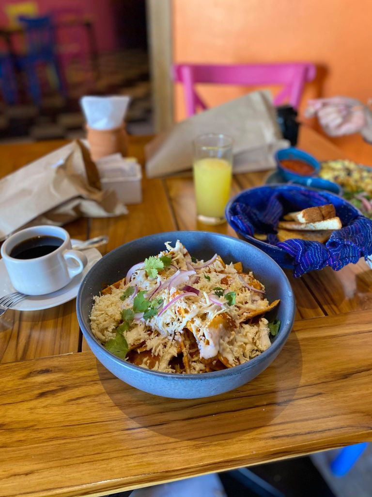 Chilaquiles, Mexican Food
