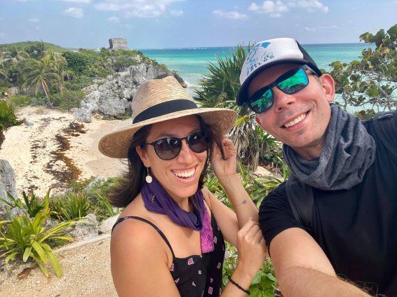 Tulum Ruins Selfie