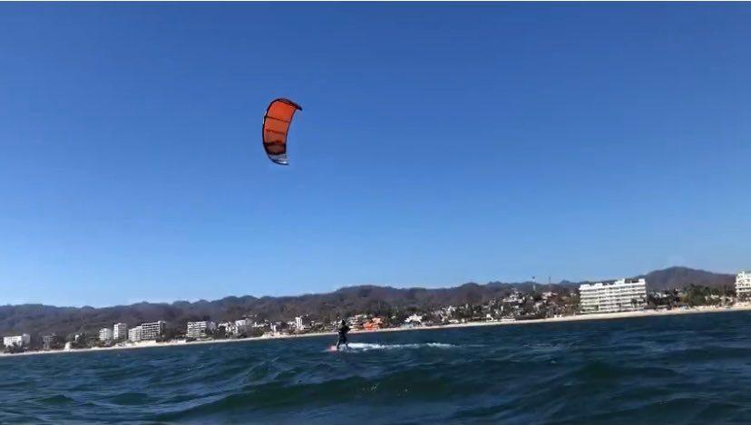 Kite Surfing Bucerias, Mexico