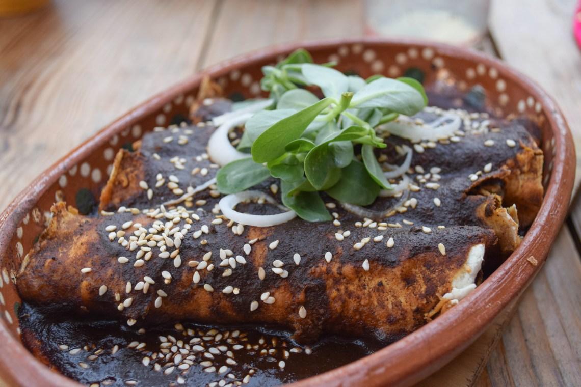 Mole Enchiladas - Mexico