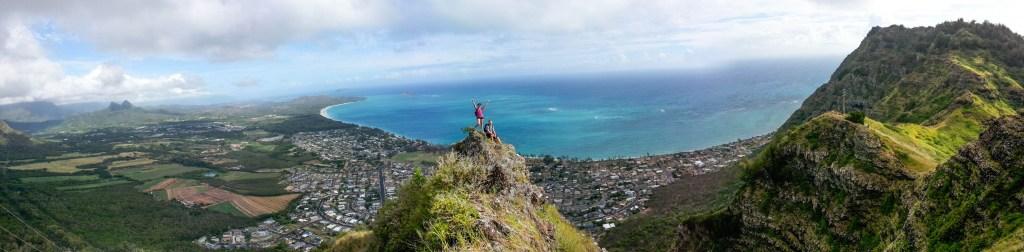 Oahu Hiking Panorama
