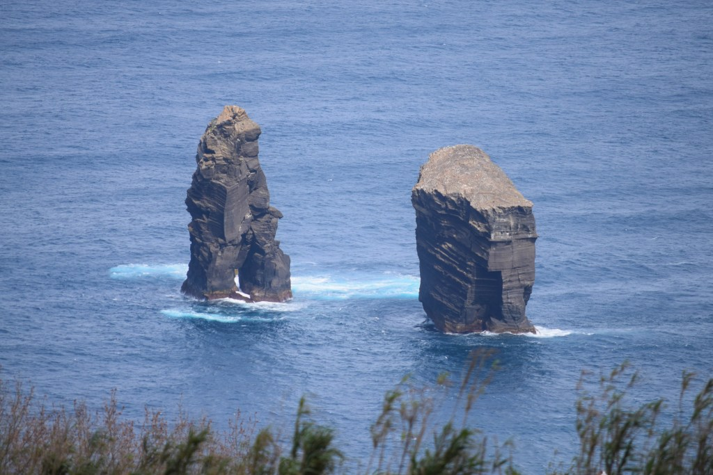 Rock Formations off the coast of Sao Miguel Island