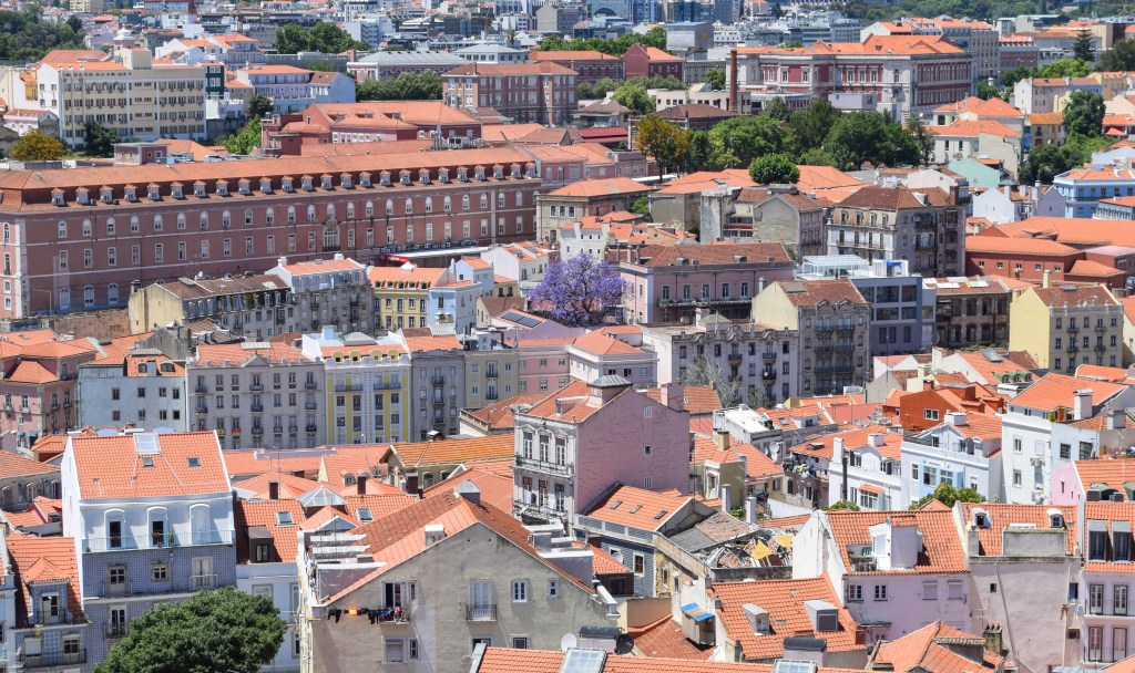 Sao George Castle: Lisbon, Portugal