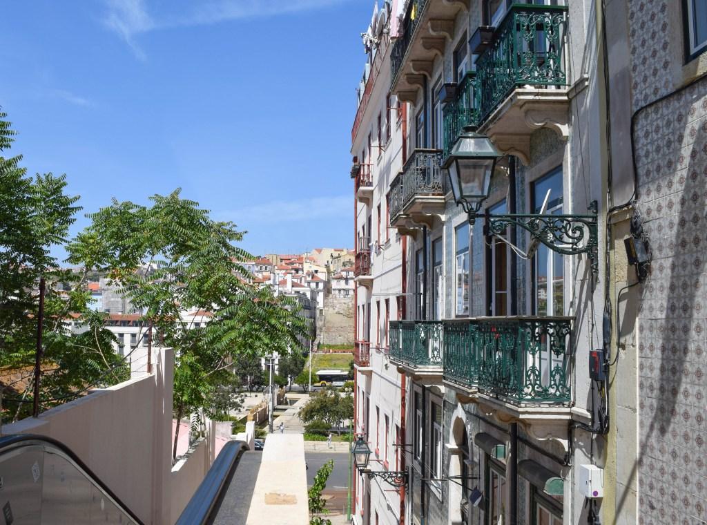Escalator: Lisbon, Portugal