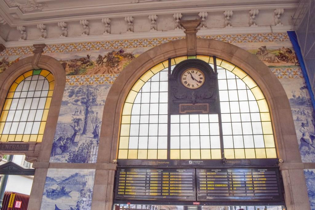 Sao Bento Railway Station - Porto, Portugal
