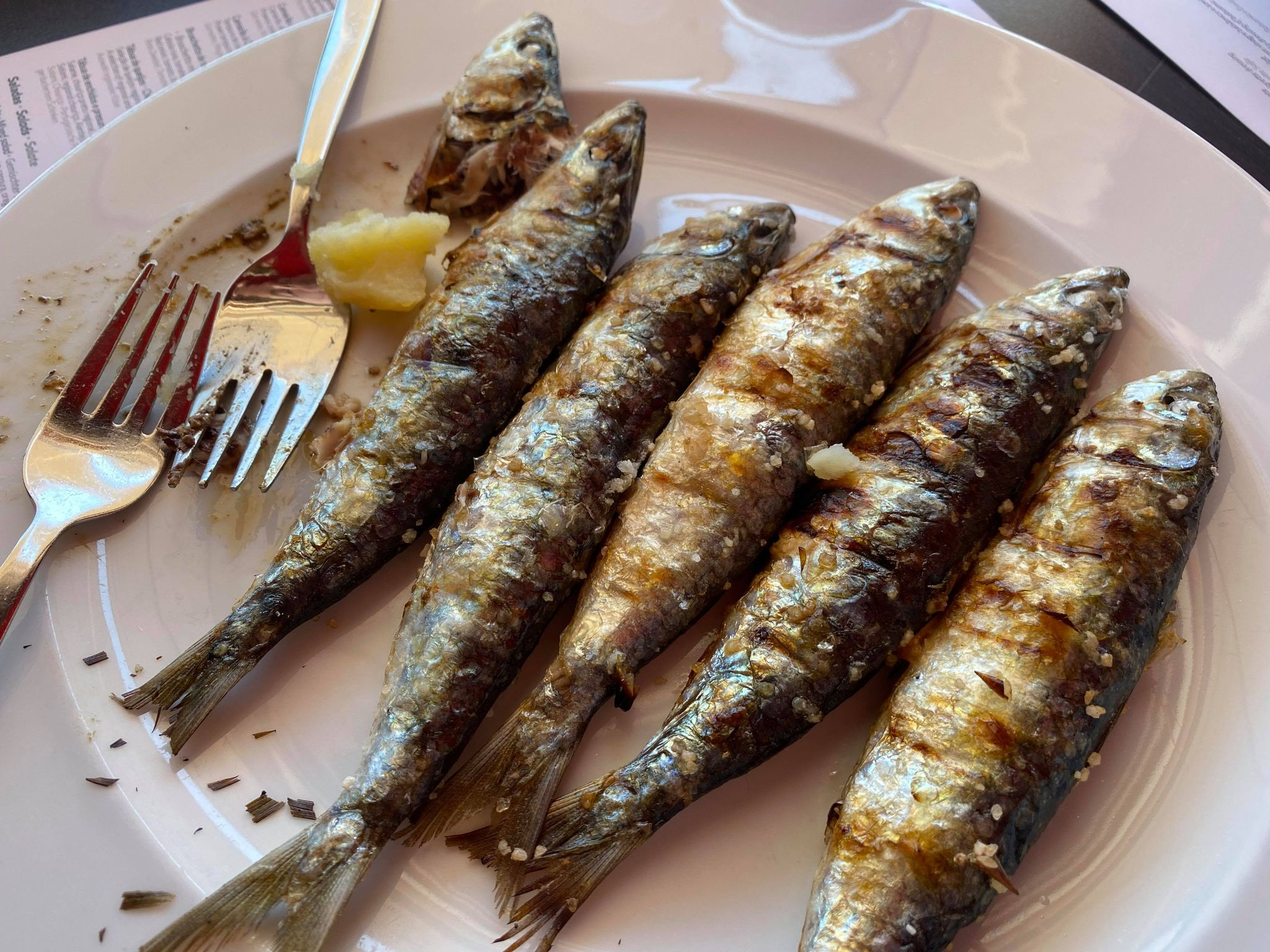 Seafood, Algarve