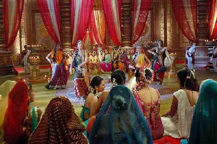Indian Wedding Sangeet Ceremony