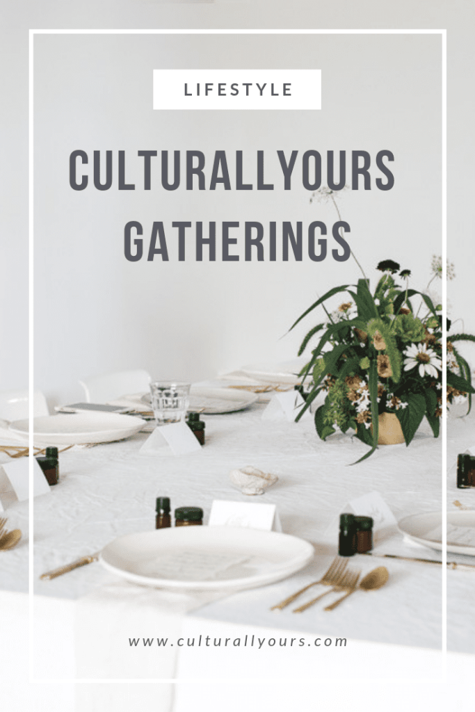 Gathering events for art culture lifestyle and food by CulturallyOurs