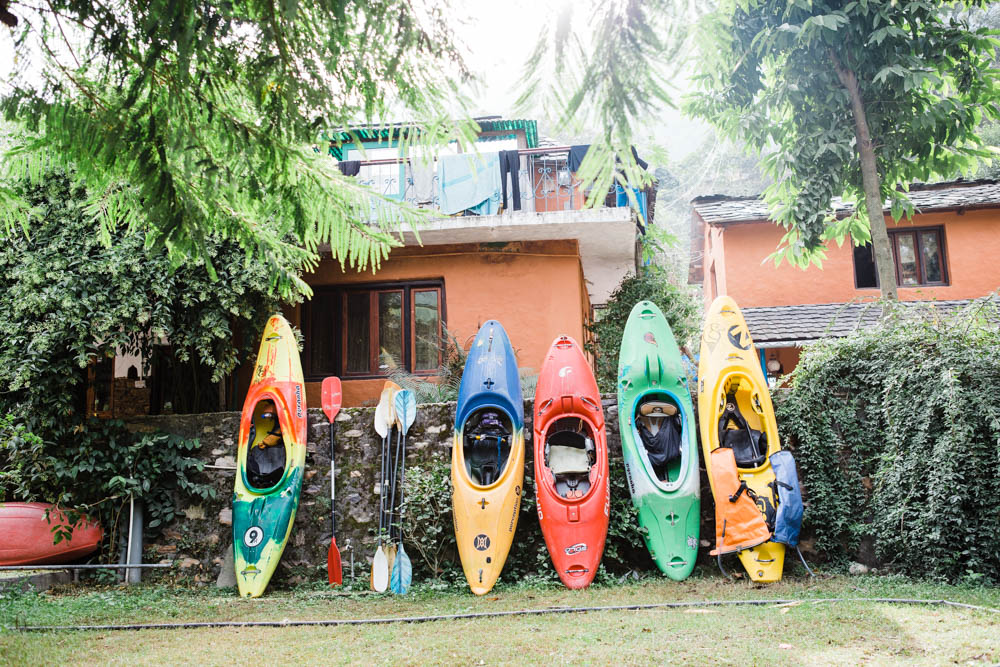 kayaking on the Alaknanda river in Rishikesh India CulturallyOurs