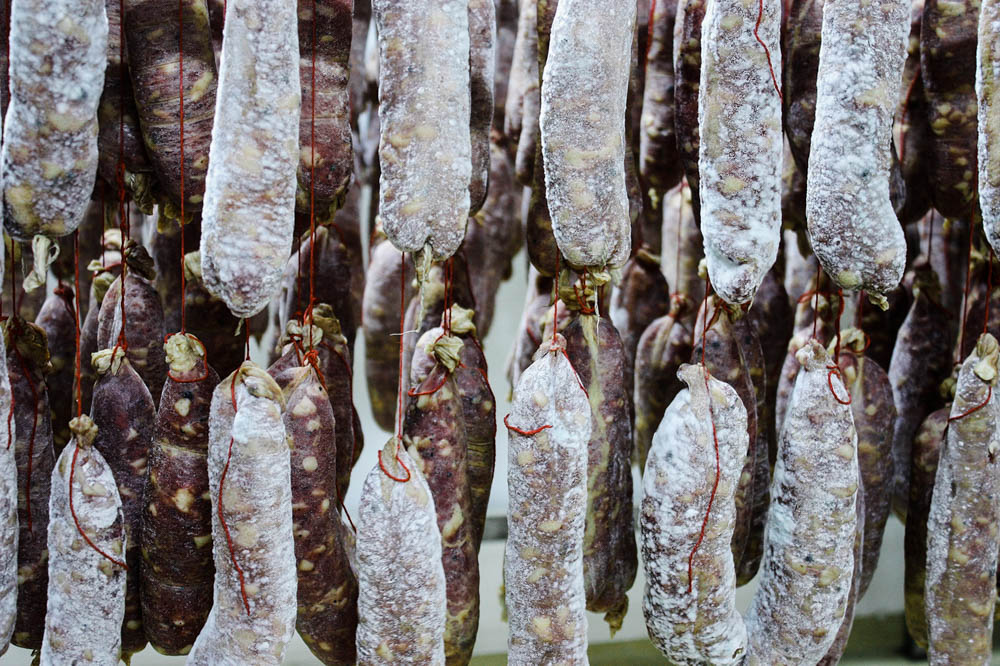 CulturallyOurs Food Guide From Kosovo Salting Salsiccia