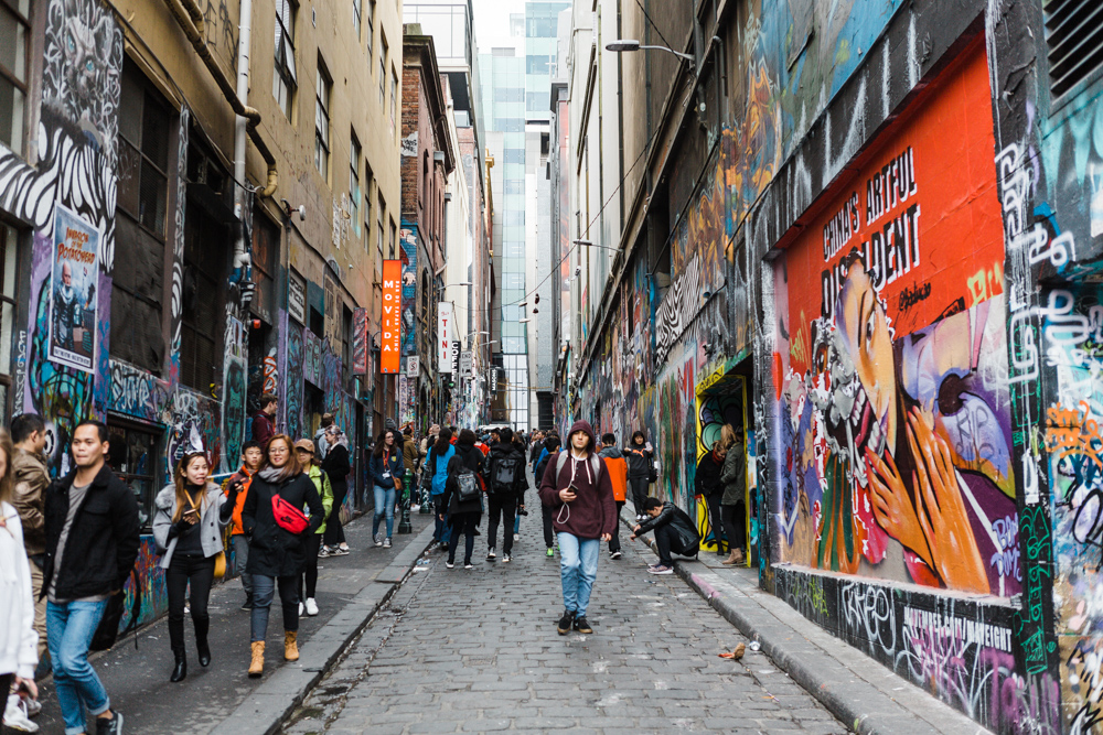 CulturallyOurs Melbourne Street Art Local Tours