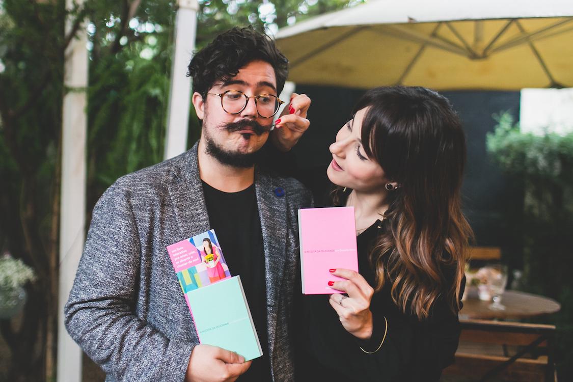 Na foto o casal: Paulo Cuenca e Dani Noce no lançamento para imprensa e amigos. Foto: Patrícia Nogueira