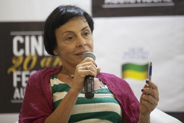 Paloma Rocha diretora e autora do filme Gramathyca. Foto: Daniela Nader/Divulgação.