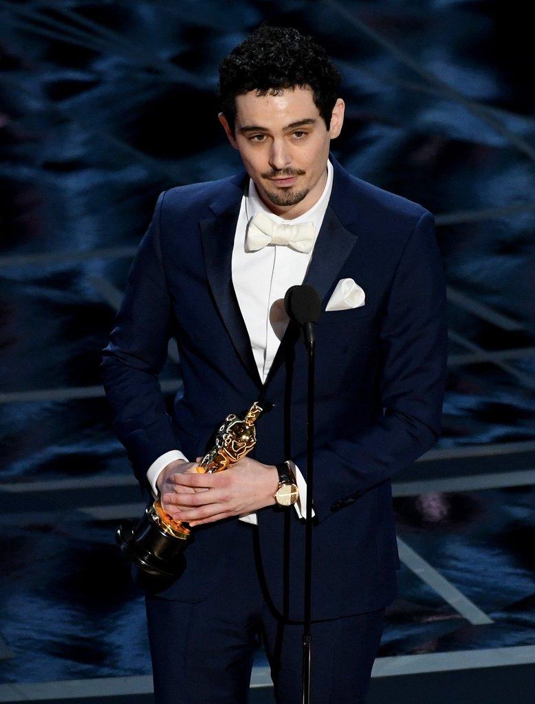 Damien Chazelle é nomeado como Melhor Diretor no Oscar de 2017. Foto: AFP/Getty Images