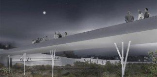 East Architects designs for bridge at folkestone gasworks